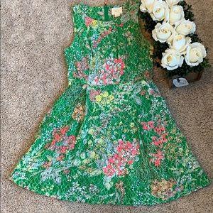 Anthropologie Maeve strapless dress size 4